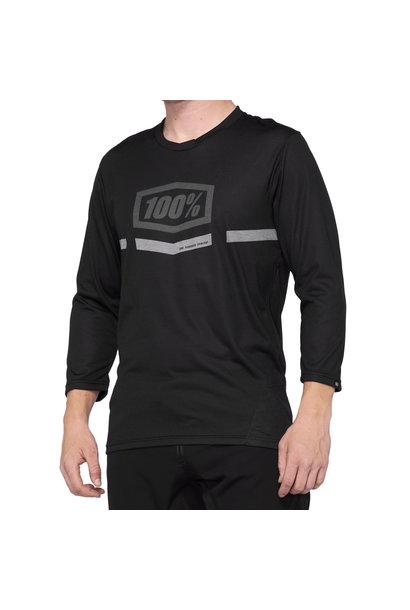 100% Airmatic 3/4 jersey Black