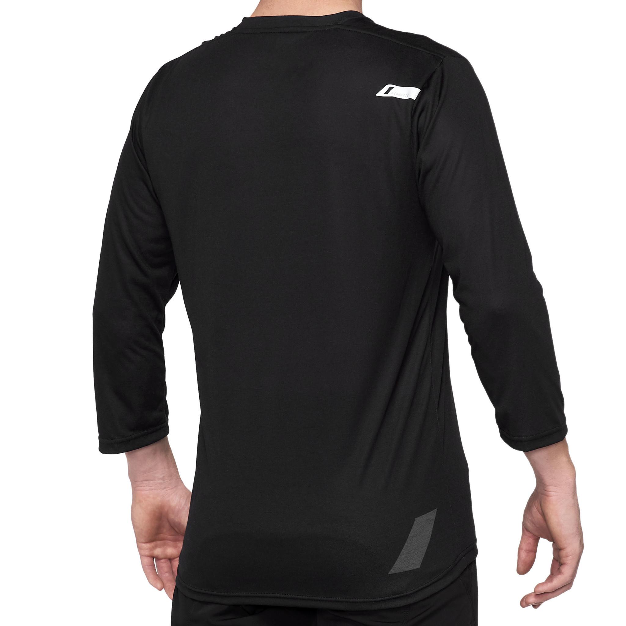 100% Airmatic 3/4 jersey Black-2