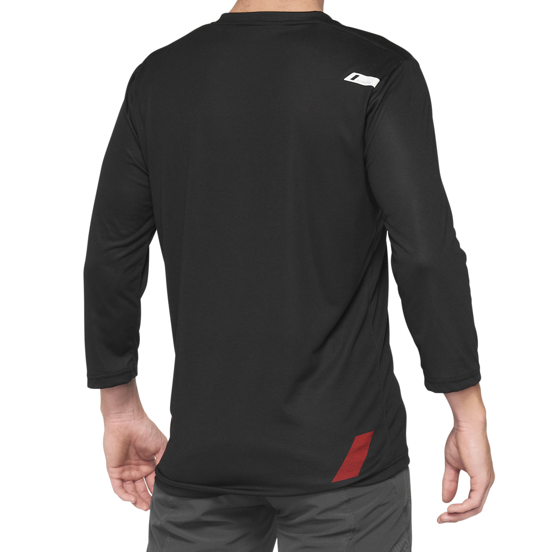 100% Airmatic 3/4 jersey Red / Black-3