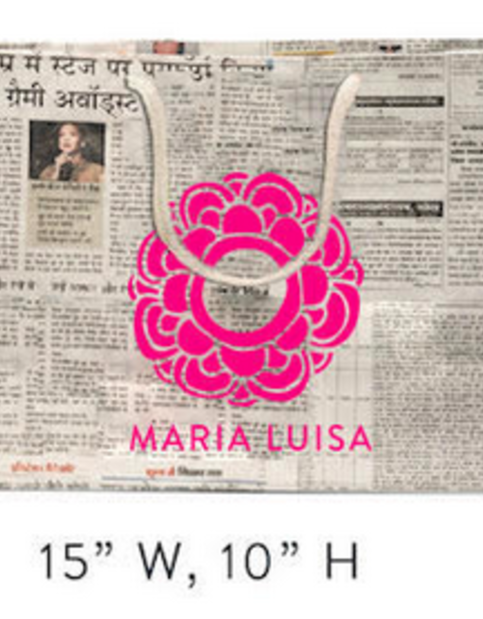 Matr Boomie Custom Maria Luisa Newspaper Bags