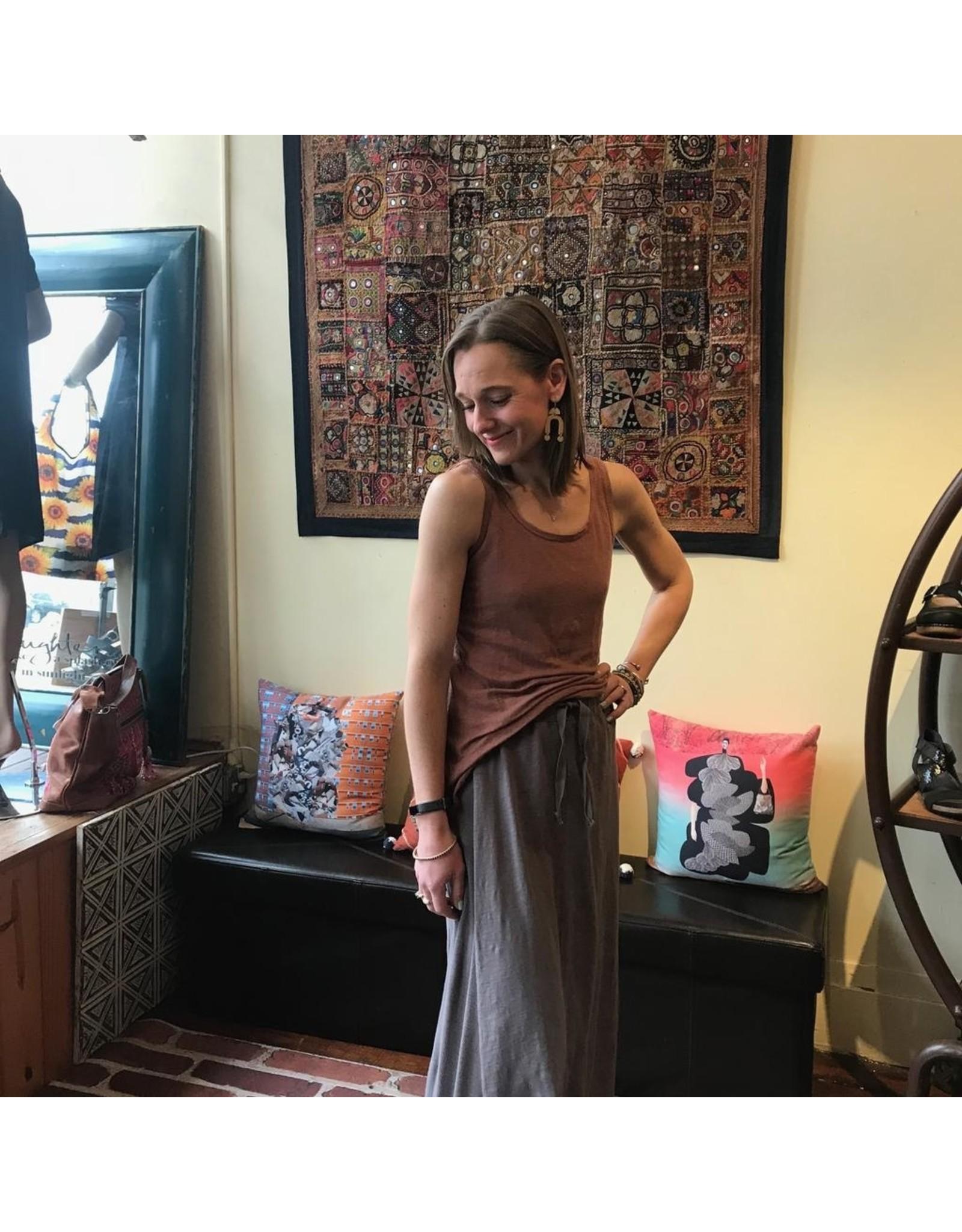 Aline Linen Knit Tank Maria Luisa Boutique