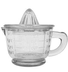 "Creative Co-op Glass Juicer 6.5""H"
