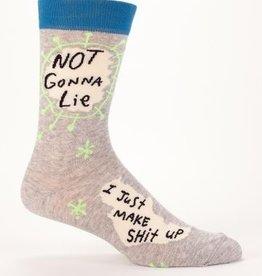 Blue Q Not Gonna Lie Men's Socks
