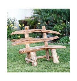Garden Age Teak Ranch Bench