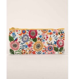Blue Q Flower Field Pencil Case