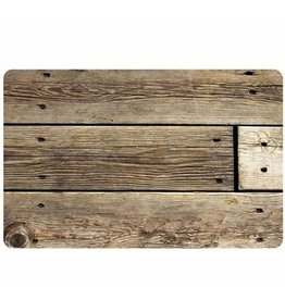 bungalow FoFlor 25 x 60 Accent Runner - Rustic Wood