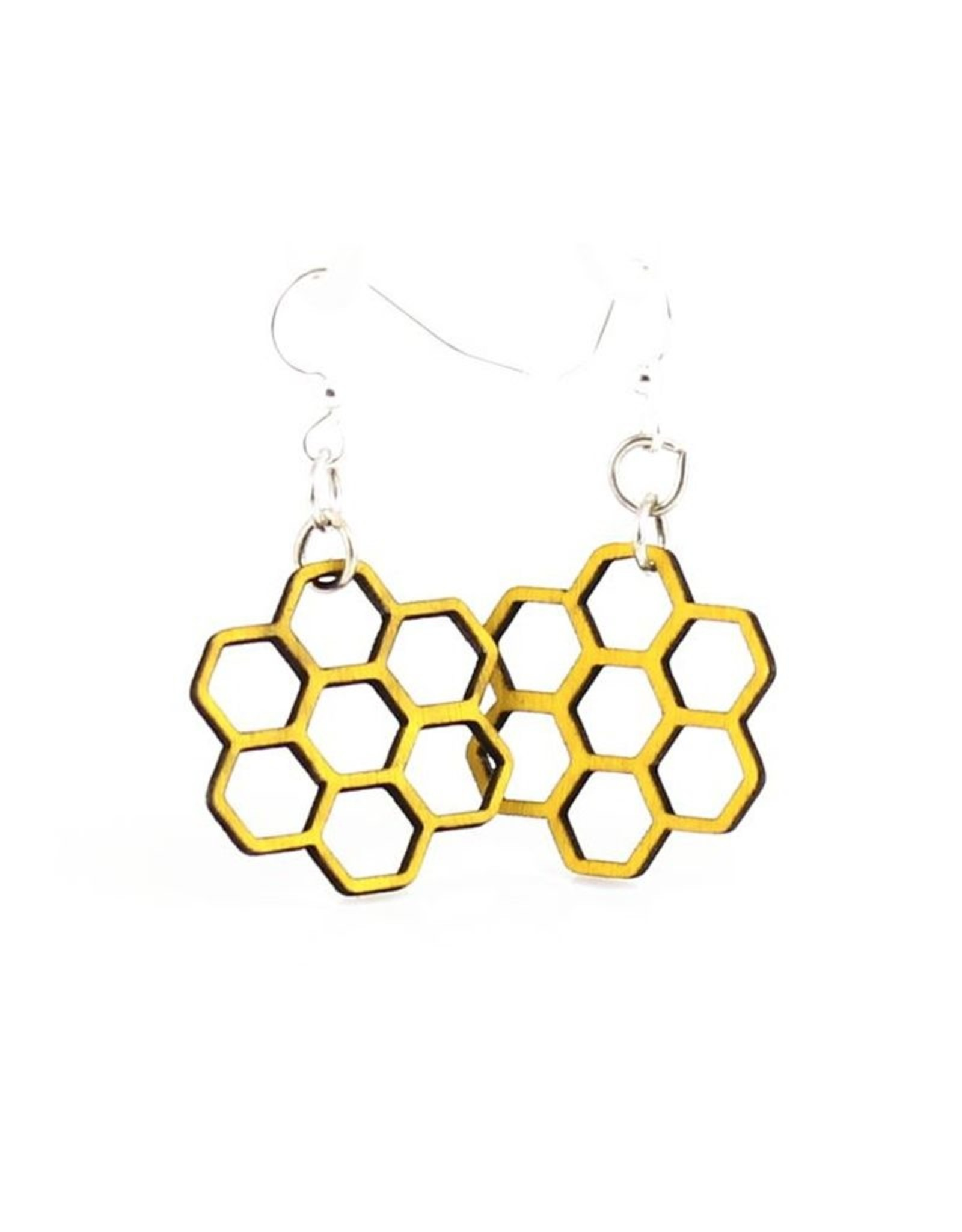 Green Tree Jewelry Honeycomb Blossom Earring