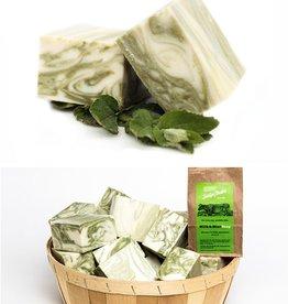 Sallye Ander Milk & Mint Swirl Soap