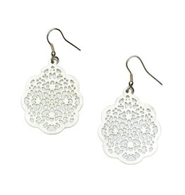 Matr Boomie Viti Earrings - Silver