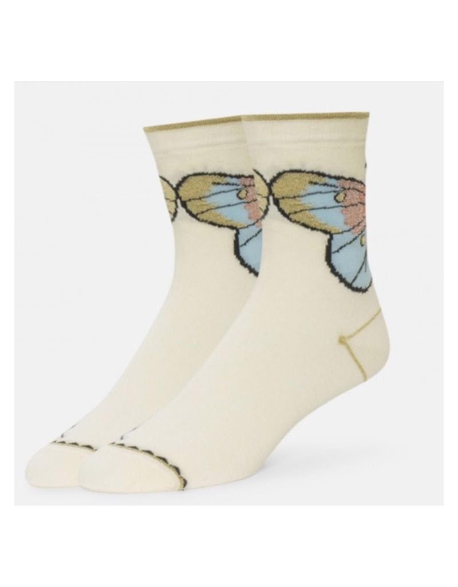 B.ella/Standard Merch Odile Sparkle Butterfly Ankle Socks