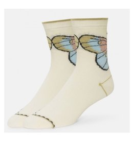 B.ella/Standard Merch Odile Sparkle Butterfly Ankle Socks