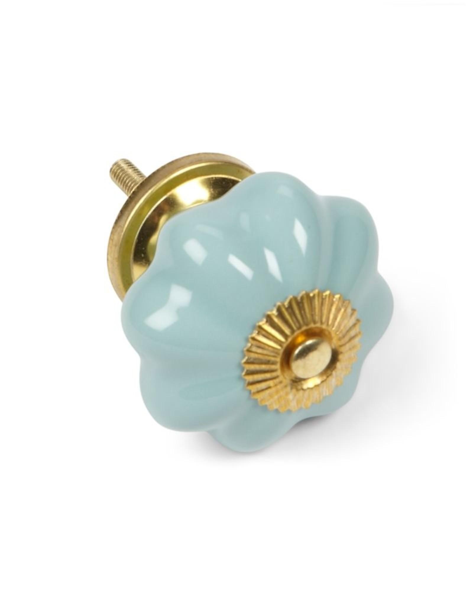 Abbott Pumpkin ceramic knob