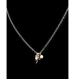 Clara Beau Tiny Bow Necklace