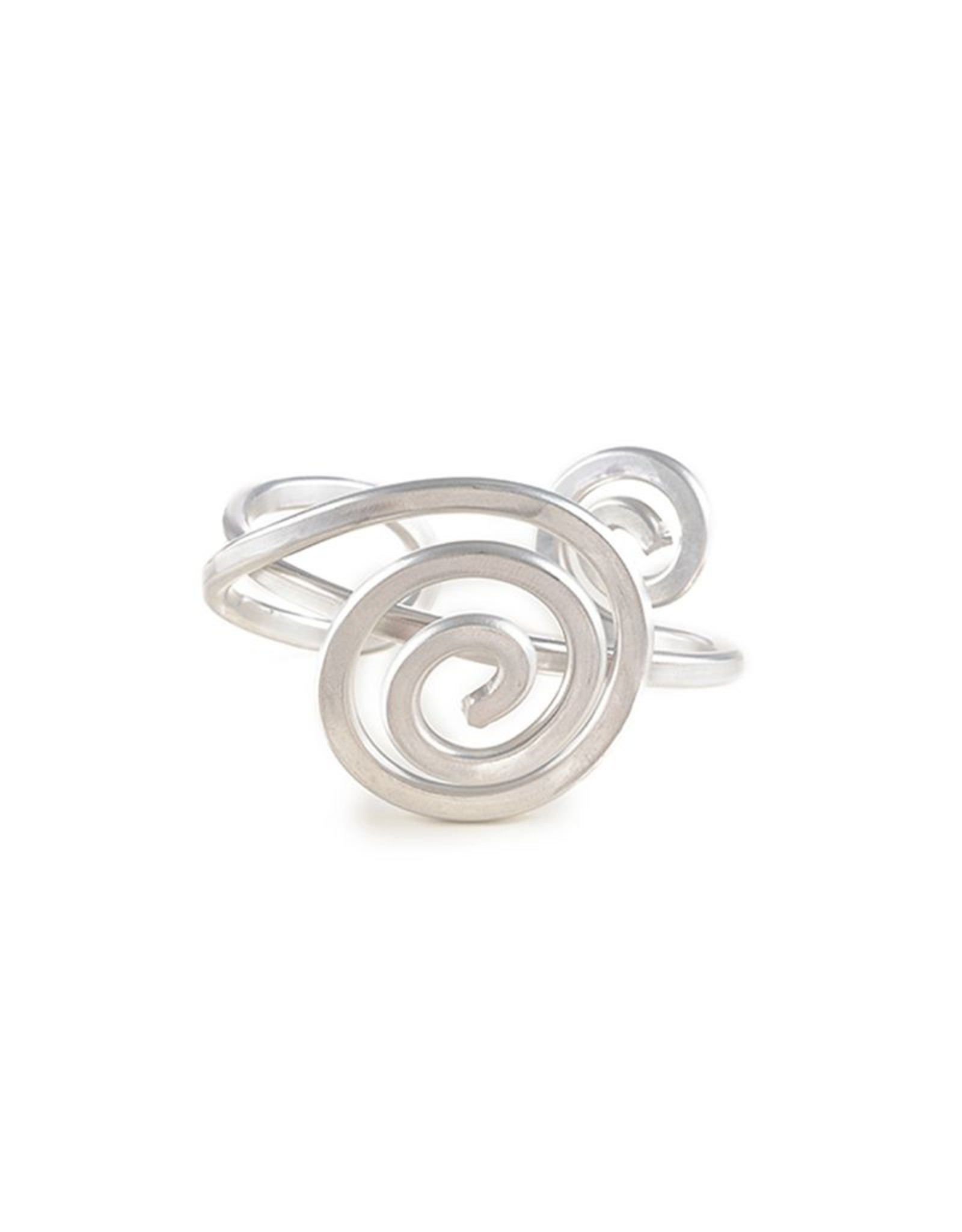 Jill Fagin Asymetrical Spiral Cuff