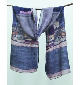 Cocoon House The Village Silk Scarf