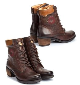 Pikolinos Embroidered Le Mans Boot Olmo/Brandy