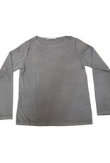 Cut Loose L/S Boatneck Top Rayon Jersey