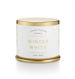 Illume Winter White Demi Tin Candle