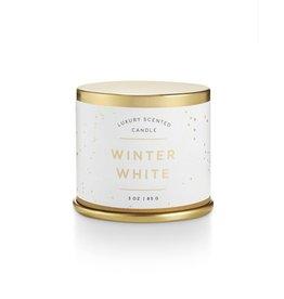Illume Winter White Demi Tin Candle