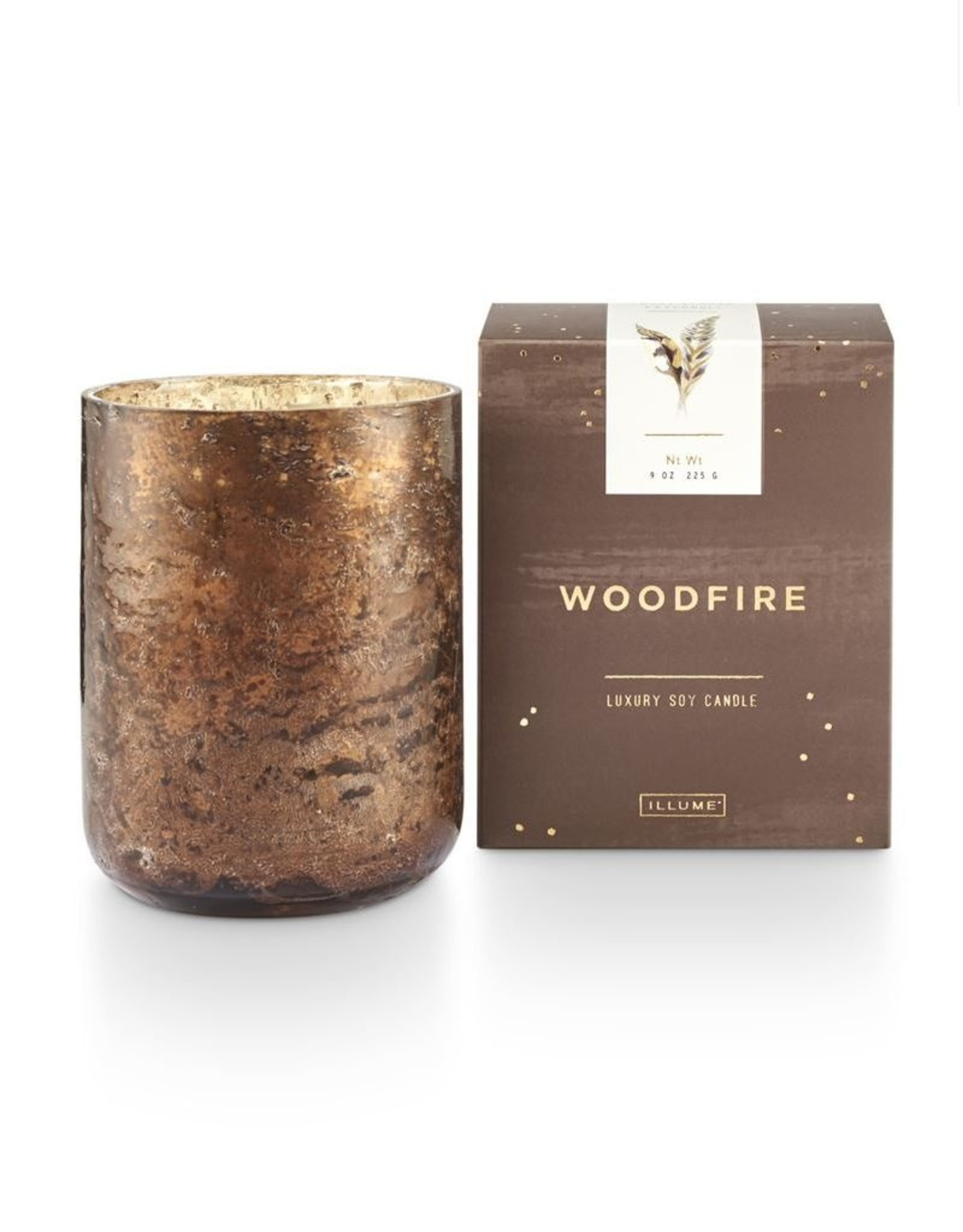 Illume Woodfire Small Boxed Luxe Candle