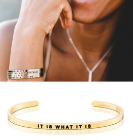 MantraBand It IS What It Is Mantra Band - Gold