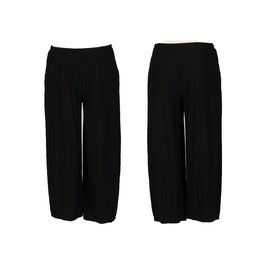 Cut Loose Crop Pant w/Dart