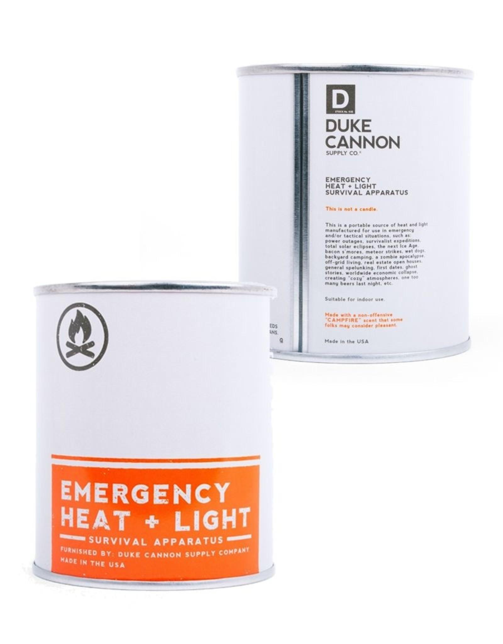 Duke Cannon Emergency Heat + Light Candle