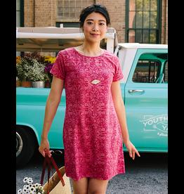 Mata Traders Hudson Shirt Dress Ruby Pink