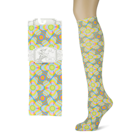 Sox Trot Daisy Prism Adult Knee Highs