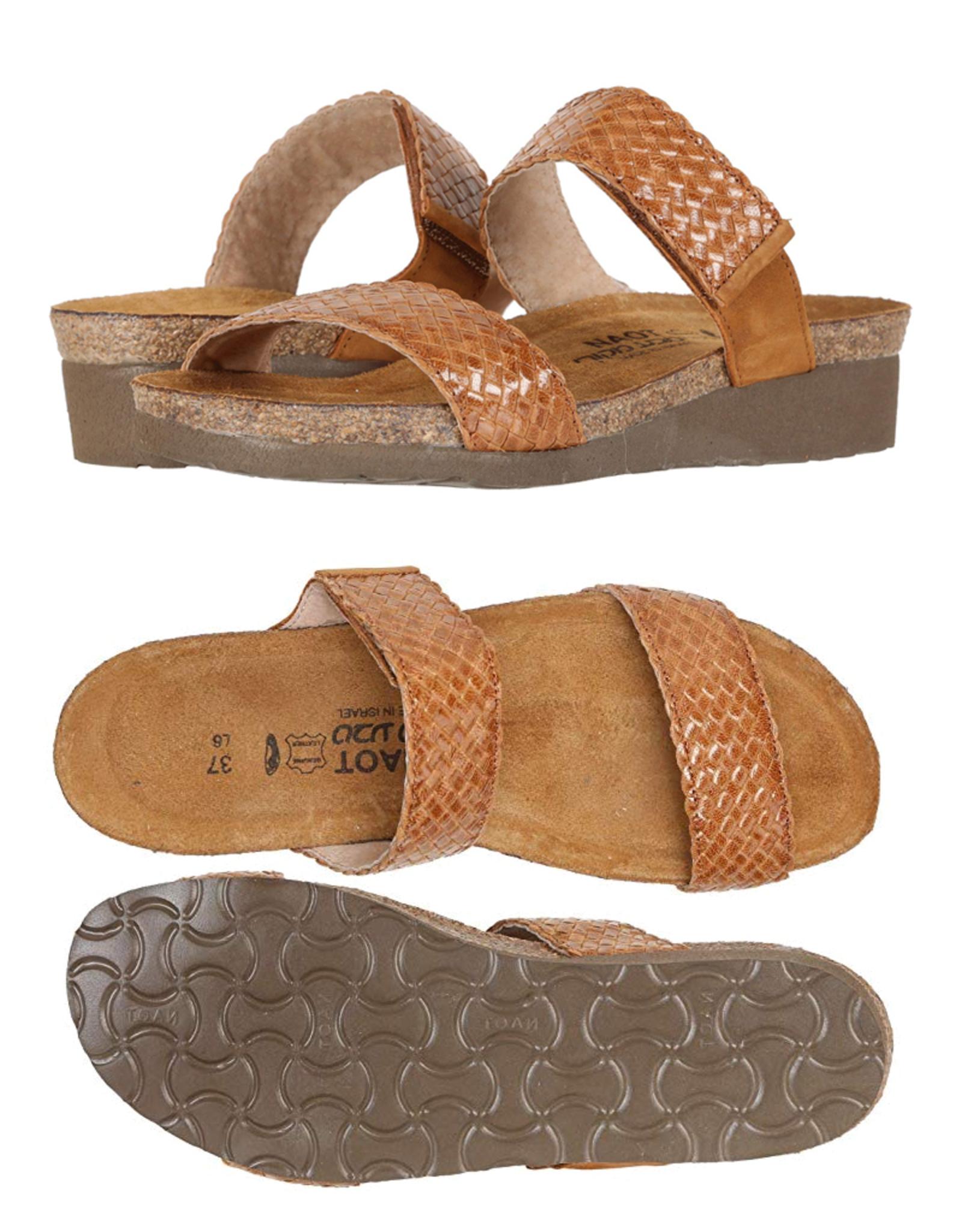 Naot/Yaleet Blake Braided Leather Open Back Sandals