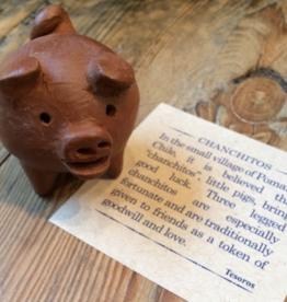 Tesoros Chanchito Clay 3 Leg Pig