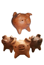 Tesoros Chanchito Clay 3 Leg Pig