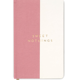 "designworks ""Sweet Nothings"" Cloth Halfsies Journal"