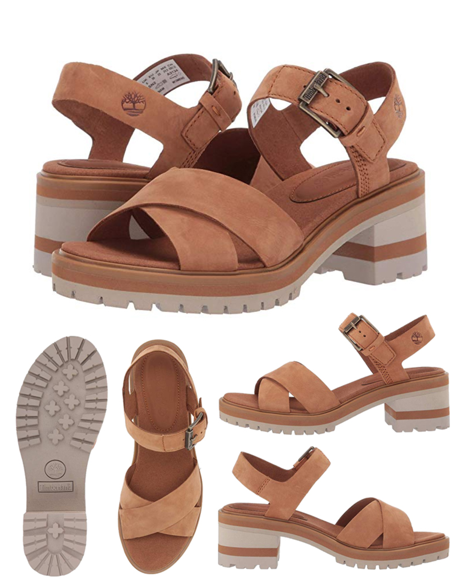 Timberland Violet Marsh XBand Saddle Sandals