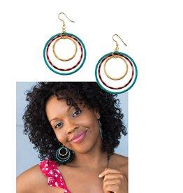 Matr Boomie Vitana Earrings-High Vibration