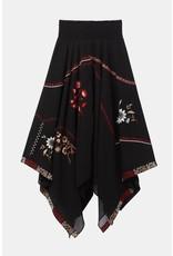 Desigual Peaks Floral Skirt