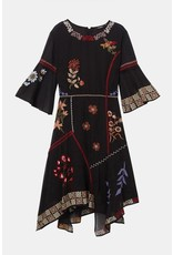 Desigual Boho Asymmetric Dress