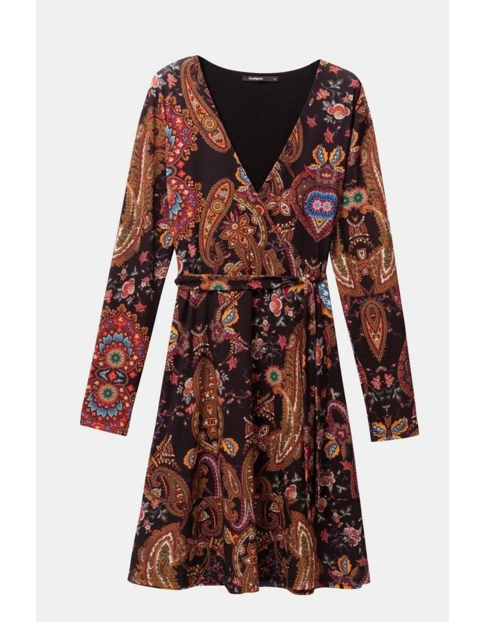 Desigual Boho Autumn Dress