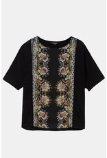 Desigual Floral Band T-Shirt Designed by M. Christian Lacroix-Final Sale