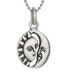 Tiger Mountain Silver Sun & Moon Necklace