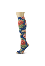 Sox Trot Eloquence Adult Knee Highs