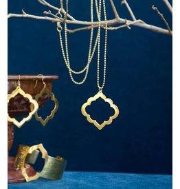 Matr Boomie Ashram Window Necklace Gold
