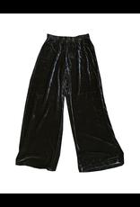 Cut Loose Long Wide Velvet Pant-Final Sale