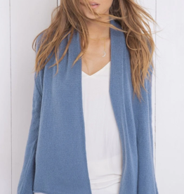 Wooden Ships Lightweight Wrap Cardigan Sweater