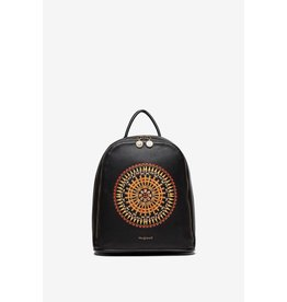 Desigual Embroidered Mandala Backpack