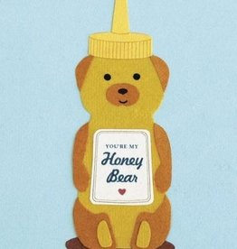good paper Honey Bear Card
