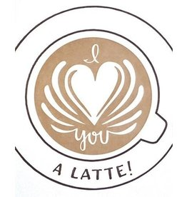 Latte Love Card