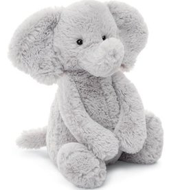Jelly Cat Bashful Silver Elephant - Medium