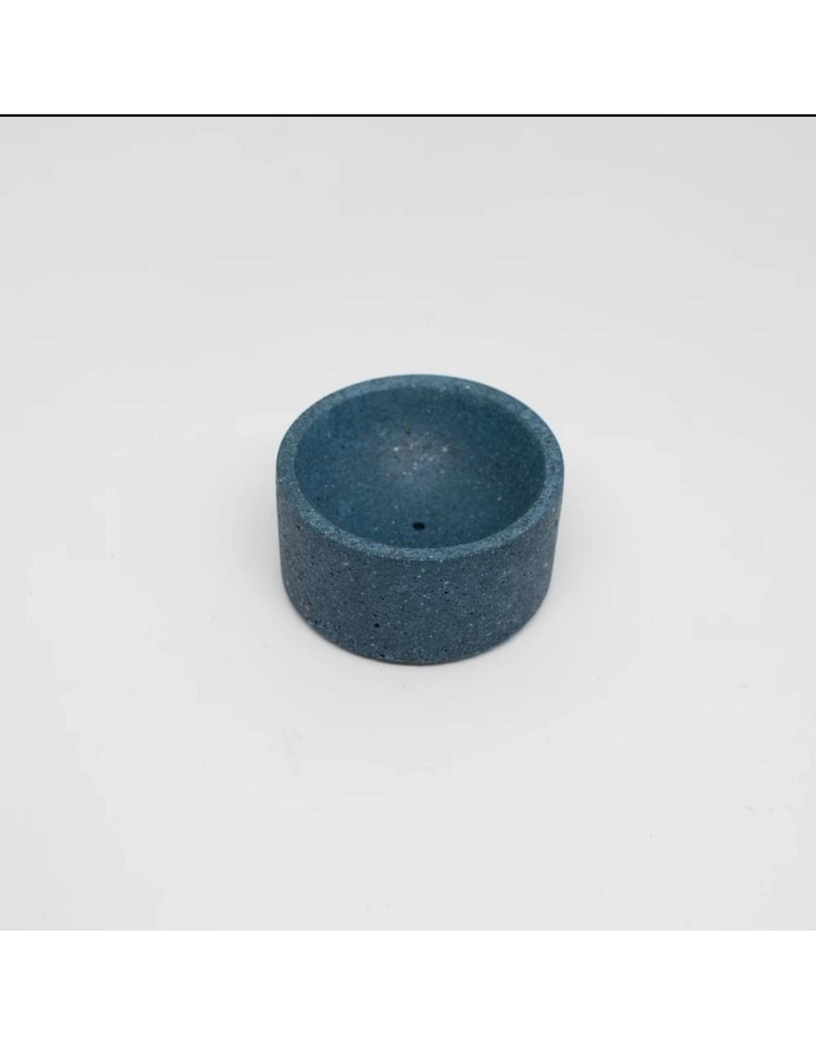 pretti.cool Terrazzo Incense Holder - Cobalt