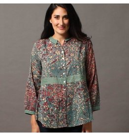 Little Journeys Lucy Cambric Cotton Blouse